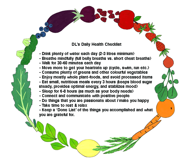 Daily Health Checklist